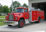 Mack R-Series Rescue Truck  Belle Chasse Volunteer Fire Department Fire District No.