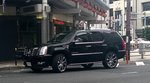Cadillac Escalade in Osaka, Japan (September 2015)
