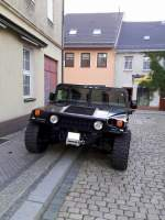 Hummer H1 6.5L Turbo Diesel V8 engine in Zeulenroda am 22.06.15