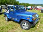 Jeep Wrangler Laredo, US-Car-Treffen in Stadtbredimus (Lux.) am 07.07.2013
