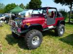 Jeep Wrangler, US-Car-Treffen in Stadtbredimus (Lux.) am 07.07.2013