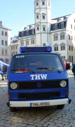 VW T3 Transporter THW in Gera. Foto 16.03.13