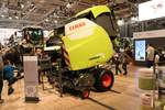 Claas Variant 485 am 16.11.19 auf der Agritechnica in Hannover