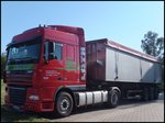 DAF XF Sattelzug-Kipper in Sassnitz am 10.07.2014