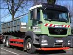 07.03.2011 : MAN TGX 26.400 - Abroll - Container....