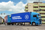 MAN TGX 26.440 Hängerzug  Hamacher-Transporte  in Euskirchen - 28.06.2016