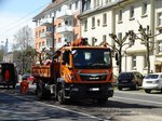MAN TGM der VGF am 21.04.16 in Frankfurt am Main