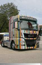 MAN TGX  Tattoo Truck by Peter Maffay  (Lichtenfels 13. September 2015)