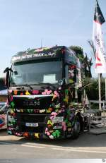 MAN TGX 18.440  Tattoo Truck by Peter Maffay  (Lichtenfels 12. September 2015)