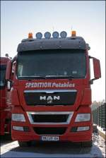 Löwen Power-Impression: MAN TGX 26.540.