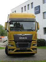 Frontansicht des New MAN TGX 18.510 am 05.05.2020 in Berlin.
