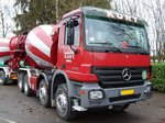 Mercedes-Benz Actros 3236 am 21.01.2007 in Bridel (Lux.)