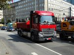 Mercedes Benz Actros am 02.09.16 in Frankfurt am Main