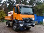 Mercedes Bent Arocs am 12.11.17 in Kleinostheim