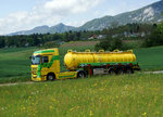 MERCEDES: Mercedes ACTROS in Riedholz am 10.