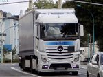 Mercedes-Benz Actros Sattelzug in Neubrandenburg am 31.07.2014