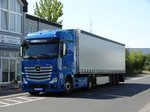 Mercedes Benz Actros am 28.08.16 in Maintal