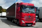 =Berliner Actros rastet in Fulda-Nord, September 2016