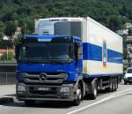 ALDI Süd Mercedes Benz Actros am 25.07.14 in Heidelberg