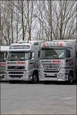 Mercedes-Benz Actros vs.