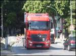 Mercedes Actros in Stralsund am 23.07.2013