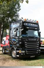 Scania R 580 Streamline  CS Trans  (Lichtenfels den 13. September 2015)