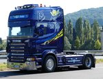 Scania Super steht am Autohof Fulda Nord im September 2016
