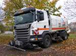 Scania G 400 am 27.10.2013 in Perl
