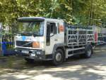 Volvo FL 250 Gastransporter in Arbucies (Spanien) am 29.09.2014