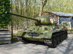 T34/85 in einem Militärmuseum in Best, Holland (05.05.2016)