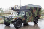 M997A2 Ambulance HMMWV(High Mobility Multipurpose Wheeled Vehicle)  des 1/2CAV 1st Squadron, 2nd Cavalry Regiment   War Eagle  (HHT  Mustangs )  der U.S.ARMY.