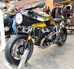 BMW R nine T Racer in der Speziallackierung Option 719 Blackstorm metallic/Aurum.