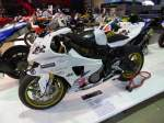 BMW S 1000 RR auf der International Motor Show in Luxembourg am 23.11.2013
