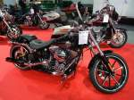 Harley-Davidson Breakout auf der International Motor Show in Luxembourg, 22.11.2015