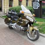 Honda Goldwing in St.