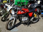 Royal Enfield Continental GT, Vintage Cars & Bikes in Steinfort am 06.08.2016