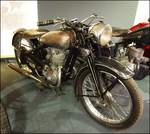 Jawa 250 typ Sport, Zweitakt,1939(Modular series), Sonderausstellung Jawa in Nationales Technisches Museum Prag am 8.1.2020