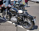 Royal Enfield Super Bullet.