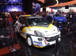 Opel Adam Rally Version am 26.09.15 auf der IAA in Frankfurt am Main