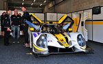LMP3 Ligier JS P3 - Nissan, vom Team RLR MSport in der Box beim Pitwalk bei der European Le Mans Series am 25.9.2016 in Spa Francorchamp.