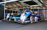 LMP3 Ligier JS P3 - Nissan, vom Team DUQUEINE ENGINEERING in der Box beim Pitwalk bei der European Le Mans Series am 25.9.2016 in Spa Francorchamp