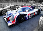 Colorkey, Nr.3 nach dem Rennen, LMP3 Ligier JS P3 - Nissan, vom Team UNITED AUTOSPORTS, European Le Mans Series am 25.9.2016 in Spa Francorchamp