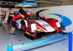 Nr.33 Oreca 05- Nissan Lmp2 von Eurasia Motorsport in der Box,  Pitwalk bei der European Le Mans Series am 25.9.2016 in Spa Francorchamp