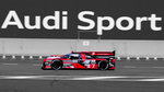 Audi R18, Audi Sport Team Joest, Nr.8 am 18.6.2016 in Le Mans.