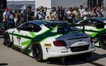 Bentley Continental GT3 in der Blancpain Gt Series auf dem Hungaroring am 28.08.2016.