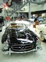 Ein 300 SL Roadster in Technik Museum Speyer am 19.02.11