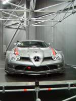 Der Mercedes-Benz SLR 722 GT in Technik Museum Speyer am 19.02.11