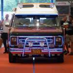 Chevrolet Van  Illuminator  im Showzelt, US-Car-Show Grefrath 2011-08-21