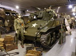 Normandy Tank Museum, Light Tank M5A1, Cadillac Motor Car Division, 32 to.