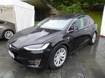 Tesla Modell X bei den Luxembourg Classic Days 2016 in Mondorf